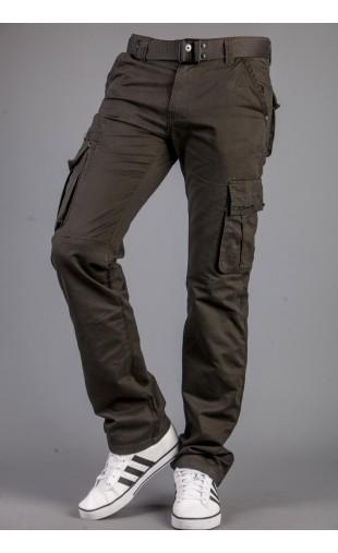 Spodnie bojówki oliwka 9079-4