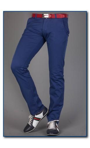 Spodnie chinosy granatowe bb 2330