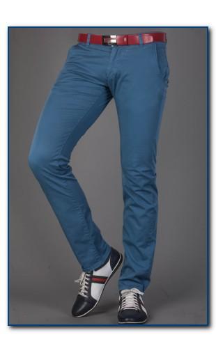 Spodnie męskie niebieskie 2330